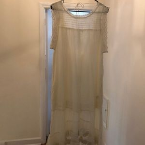 Brand new Free People lace sundress. Tags on!!!